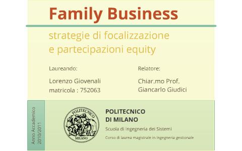 Family Business By Lorenzo Giovenali On Prezi