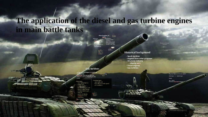 The application of the diesel and gas turbine engines in mai