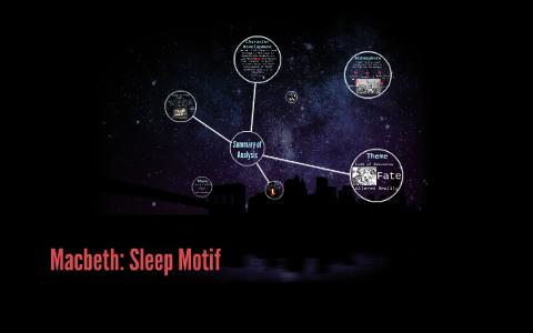 sleep motif in macbeth