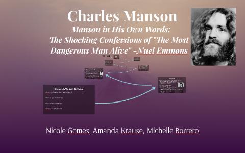 Charles Manson By Michelle Borrero On Prezi
