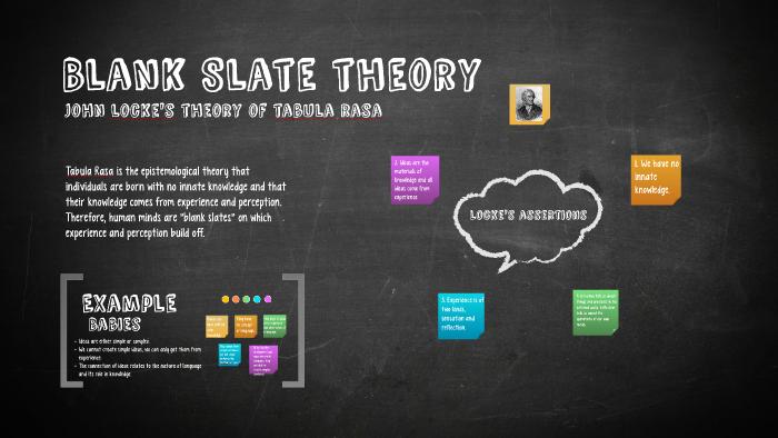 Blank Slate theory by Dina Rezk on Prezi