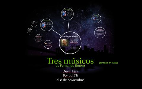 Tres Músicos De Fernando Botero By Devin Farr On Prezi