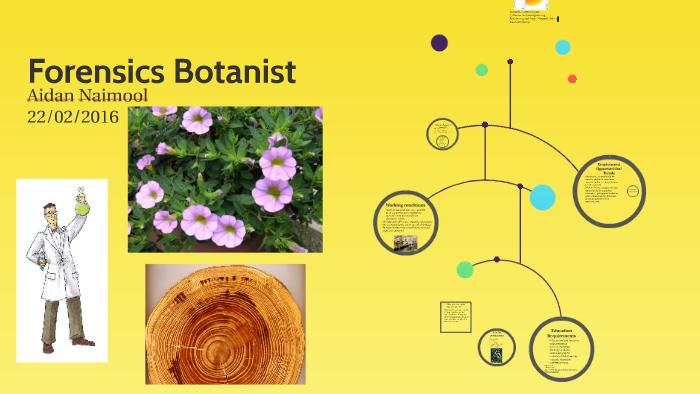 Forensics Botanist By Swag Master