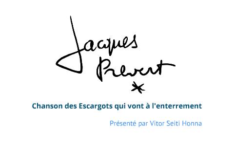 Chanson Des Escargots Qui Vont à Lenterrement Jacques