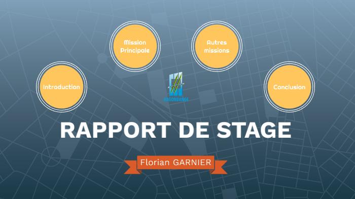 Rapport De Stage By Florian Garnier On Prezi Next