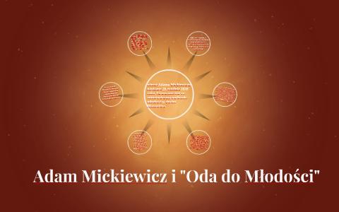 Adam Mickiewicz I Oda Do Młodości By Dawid Zambrzycki On Prezi