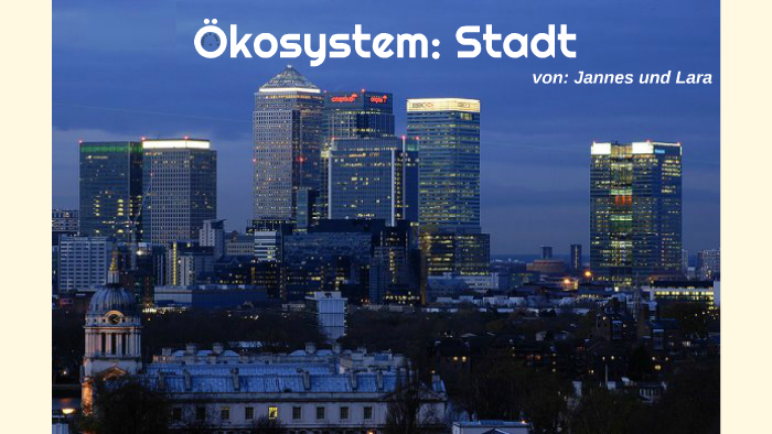 Okosystem Stadt By Lara P On Prezi