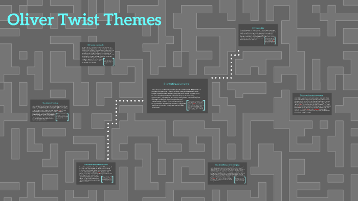 oliver twist themes