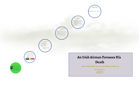 an irish airman foresees his death meaning