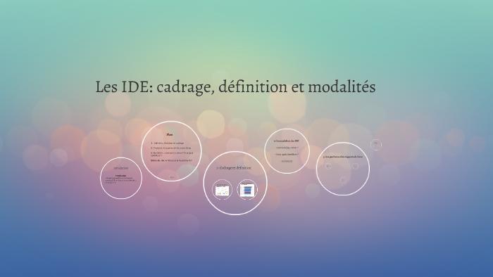 Les Ide Cadrage Définition Et Modalités By Jean Baptiste Cazalets