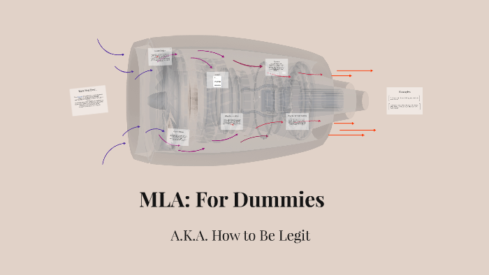 Mla for dummies