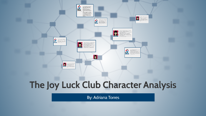 joy luck club character analysis
