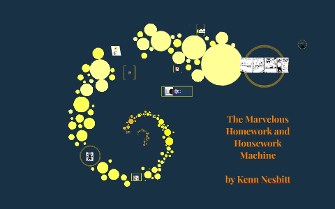 the marvelous homework and housework machine by kenn nesbitt
