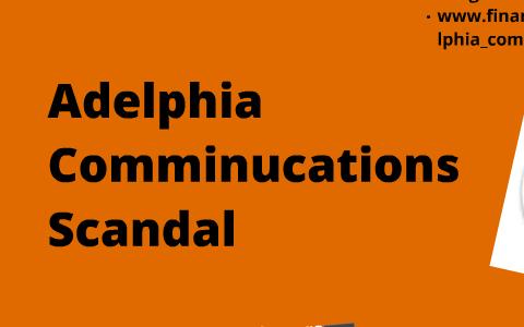 adelphia scandal