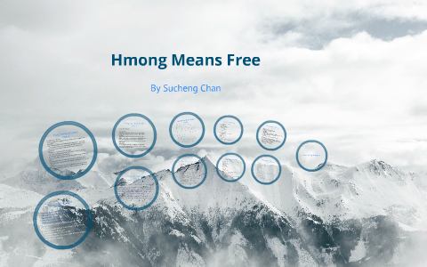 hmong means free life in laos and america