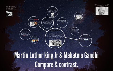 gandhi and martin luther king venn diagram
