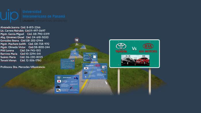 Toyota Vs Kia By Nai Carrera On Prezi