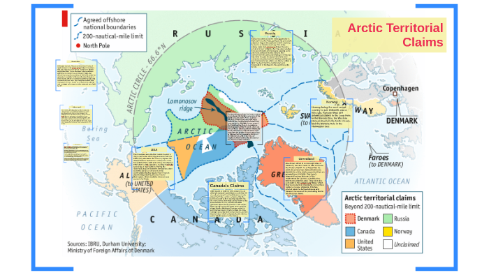 arctic territorial claims map Arctic Territorial Claims By Zach Bootsma On Prezi Next arctic territorial claims map