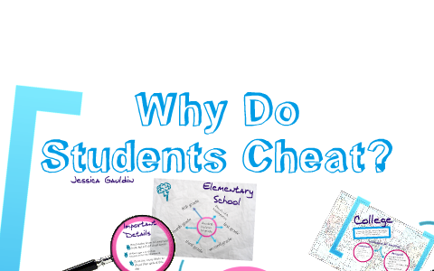 why do students cheat