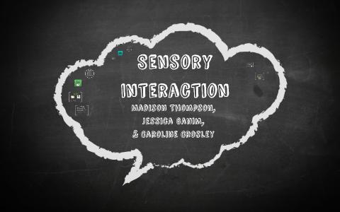 sensory interaction