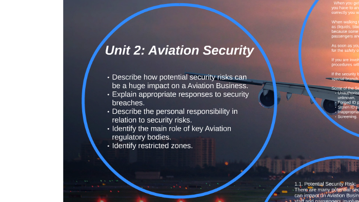 Unit 2: Aviation Security by Sophie Williams on Prezi
