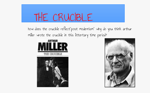 why arthur miller wrote the crucible