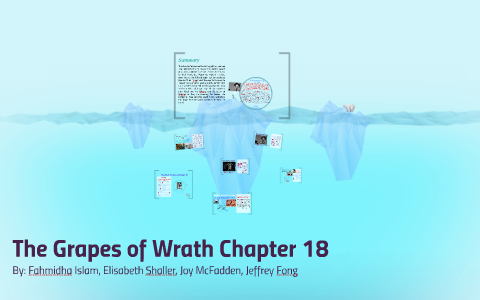 grapes of wrath chapter 18