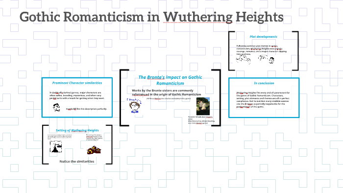 romantic elements in wuthering heights