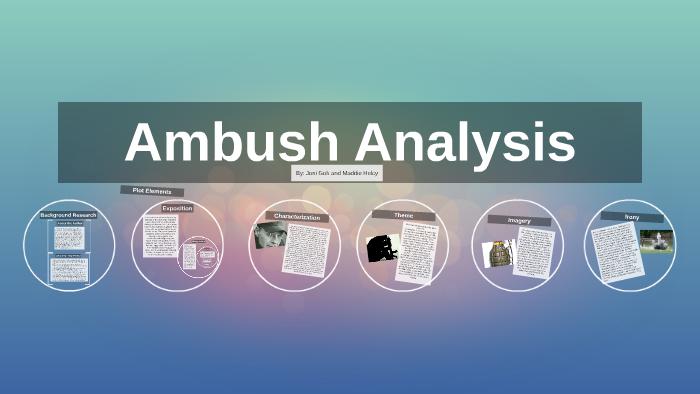 ambush by tim o brien theme