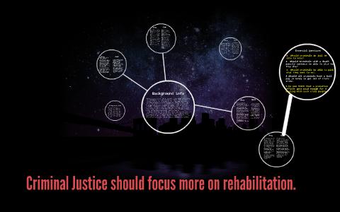 punishment vs rehabilitation pros and cons
