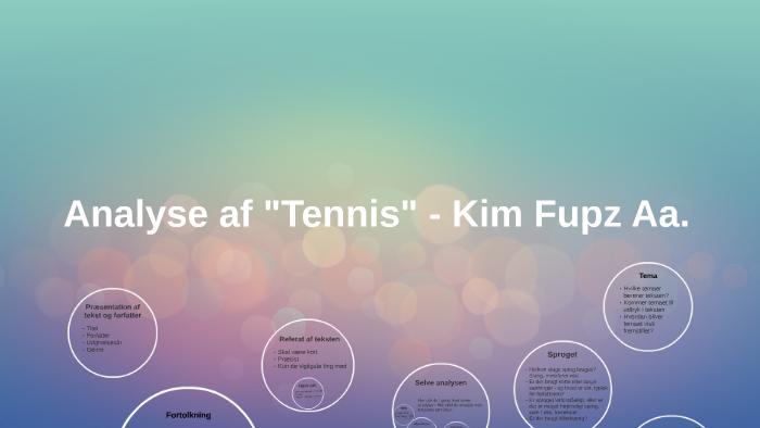 perspektivering til tennis