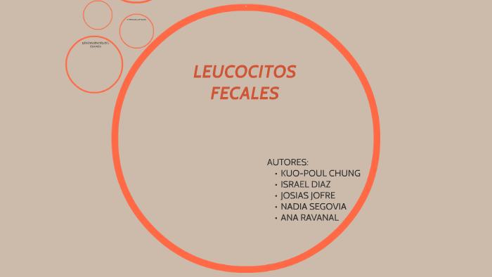 que tonada leucocitos linear unit las heces