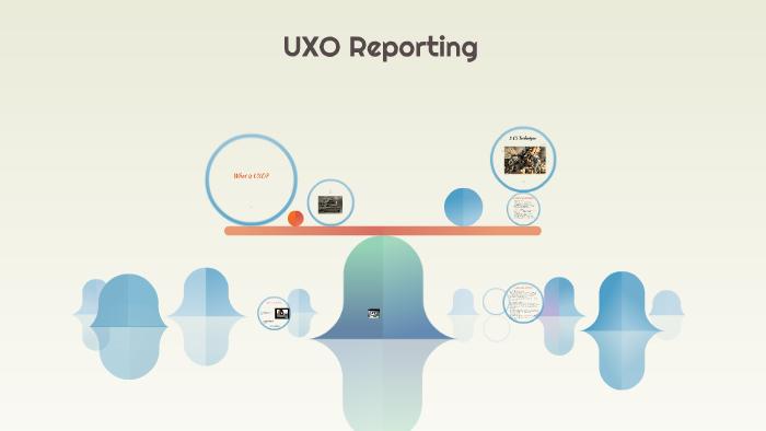 Uxo Reporting By Robert Barrett On Prezi