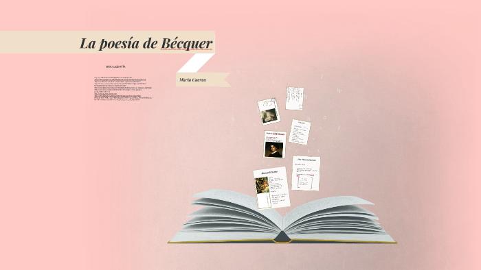 La Poesía De Bécquer By Marta Cuerva On Prezi