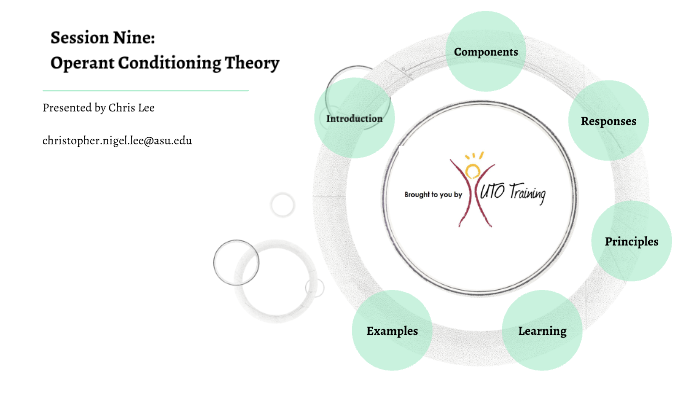 what is the operant conditioning theory