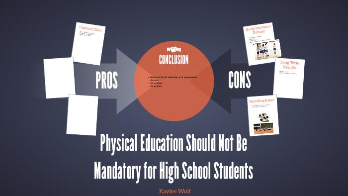 physical education should not be mandatory