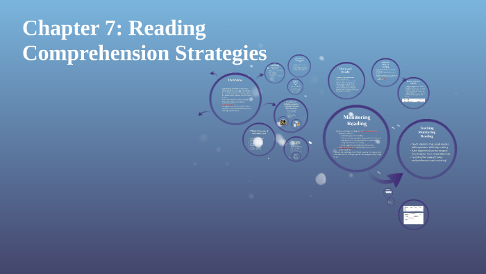 Chapter 7 Reading Comprehension Strategies By On Prezi