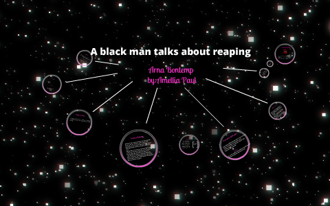 A Black Man Talks About Reaping By Amellia Paul On Prezi