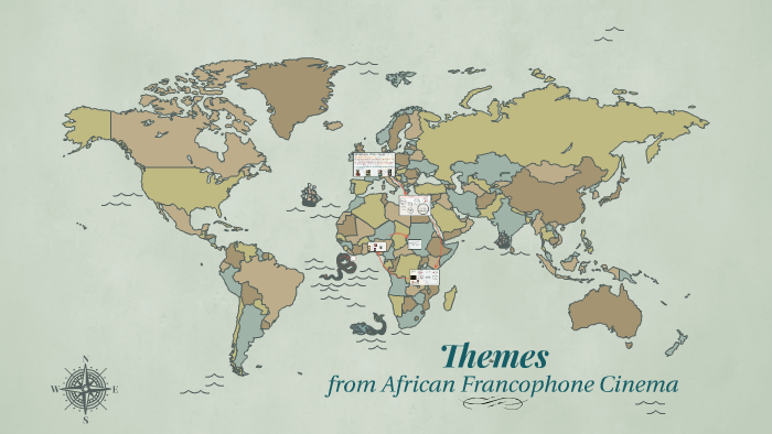 Francophone Africa Map.Themes From African Francophone Cinema By Kat Berrospe On Prezi