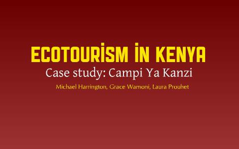 campi ya kanzi case study