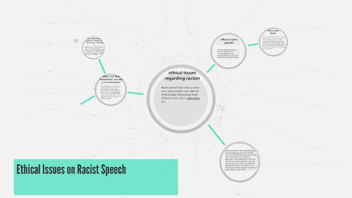 on racist speech