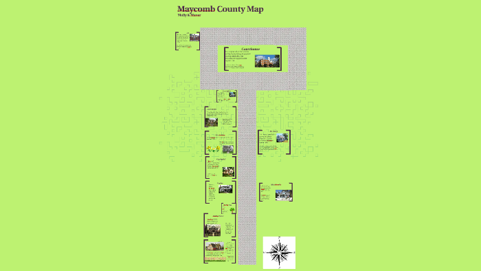 Maycomb County Map