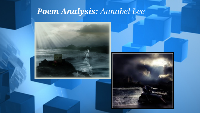 imagery in annabel lee