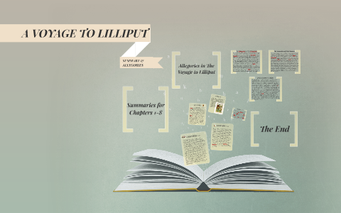summary of a voyage to lilliput