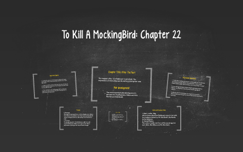 literary analysis questions for to kill a mockingbird