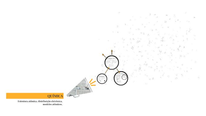 Quimica Estrutura Atômica Modelo Atômico Distribuição Ele