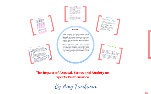 stress anxiety and arousal in sport