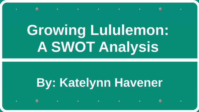 lululemon internal analysis