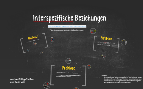 interspezifische beziehungen by dario v on prezi. Black Bedroom Furniture Sets. Home Design Ideas