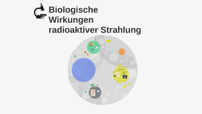 Biologische Wirkungen Radioaktiver Strahlung By Alicia Perez On Prezi